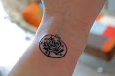 woah, someone pinned my tattoo photo.  cold roses, ryan adams