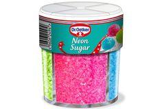 Dr Oetker 4 Colours Neon Sugar 100g