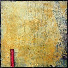 Senza titolo (Giallo)- Quadro materico astratto giallo, tecnica mista su tela, telaio in legno, 100x100cm, dipinto da Fausto Fiato artista contemporaneo