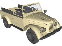 GAZ 69 3D Model Toyota Fj40, Cinema 4d, 4x4, Jeep, Model, Autos, Scale Model, Jeeps
