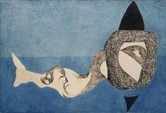 Monster in Blue Space, 1939 - Vajda Lajos - WikiArt.org