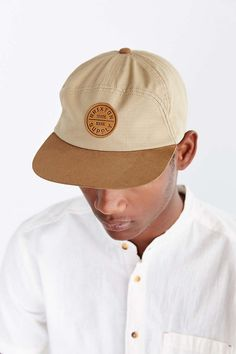 Brixton Oath 7-Panel Strapback Hat - Urban Outfitters