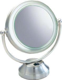 Flip Up Creative Makeup Mirror Light Led Lights Charging Desktop Magnification Lens Princess Toilet Glass Lamp Desktop Reliable Performance Lights & Lighting