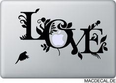 Bei uns finden Sie das perfekte Valentinstag Geschenk! #MacbookSticker - LOVE IS IN THE AIR  http://www.macdecal.de/macbook-sticker-love/macbook-sticker-love.html