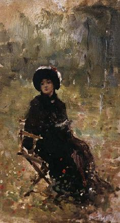 Nicolae Grigorescu (May was one of the founders of modern Romanian painting. Human Pictures, Best Portraits, High Art, Watercolor Techniques, Art Studies, Famous Artists, Female Art, New Art, Contemporary Art