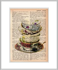 teacup art - Google Search
