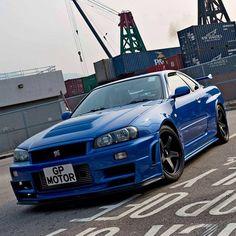 #nissan #nismo #nissangtr #skyline #r34 #gtr #skylinegtr #r34gtr #blue #jdm #japan #boosted  #rb26dett #twinturbo #turbo #beautiful #dreamcar