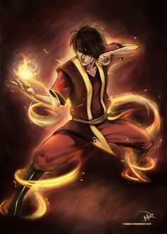 Zuko - from Avatar the Last Airbender, when I was young I LOVED zuko and I had the biggest crush on him! LOL! I still kinda do... he's my cartoon crush!