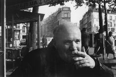 .Jean Genet, Paris - Photo HCB