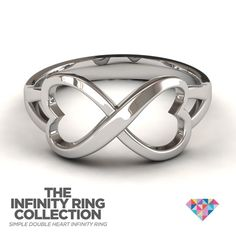 the body and shape of an infinite hearts ring of us @knownpsy
