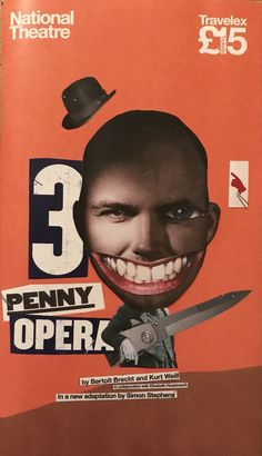 The Thrippenny Opera, NT Olivier Theatre. Adaptation by Simon Stephens. By Bertolt   Brecht and Kurt Weill, With Rory Kinnear. 25 May 2016.