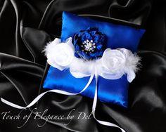 Ring Bearer Pillow Bridal/Wedding pillow by TouchOfEleganceByDel