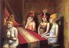 """""""Salon"""", Otto Dix  Gaceta Berlin Epoque"""