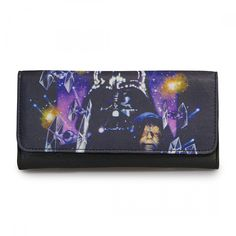 This is a Star Wars Space Scener Wallet that is produced by the neat folks over at Loungefly. Loungefly is very well known for making high quality accessory items. Seriously, they're stuff is fantasti