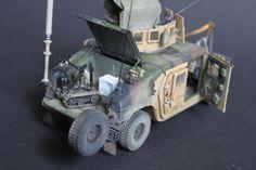M1114 Frag 5 EOD Patrol- Bronco+AVF Club 1:35