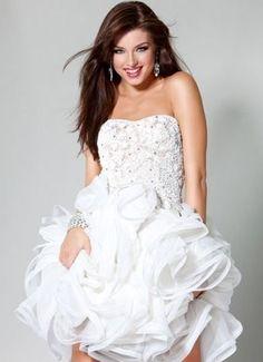 vestidos de novia cortos para la boda y en el civil