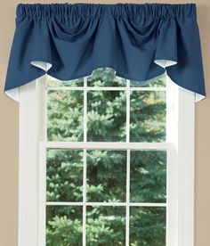 Insulated Weaver's Cloth Austrian Valance