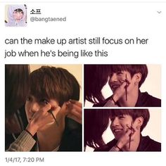 I should become a kpop makeup artist