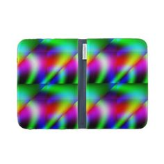 Funky Green Space Kindle Case