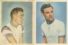 No. 110 cycling - Hein v. Breenen and No. 103 cycling - Gerrit Voorting