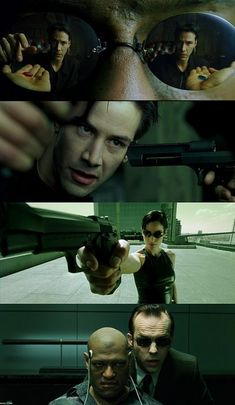 Green tones - The Matrix, 1999 (dir. Andy Wachowski Lana Wachowski) By ClaudiaRayara Cinematic Photography, Film Photography, Sci Fi Movies, Good Movies, Foreign Movies, Indie Movies, Action Movies, Keanu Reeves, Love Movie