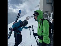 A day with a bit of climbing, hiking and ski touring and lots of powder skiing! Ski Touring, Winter Sports, Exploring, Skiing, Mountains, Youtube, Ski, Winter Sport, Youtubers