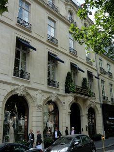 Ralph Lauren mansion in Paris, France on the Left Bank