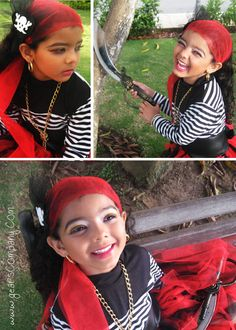 Ideas para hacer con niños. » Piratas chic (paso a paso)