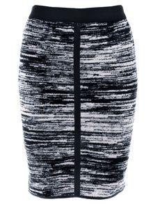 Designers Remix Teza Dark Grey Melange Skirt