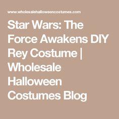 Star Wars: The Force Awakens DIY Rey Costume | Wholesale Halloween Costumes Blog