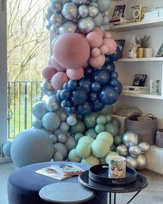 Design & Decor - Elari Events Balloon Decorations, Easter Eggs, Balloons, Baby Shower, Rainbow, Party, Bliss, Diy, Events