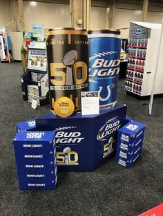 Discover Budweiser, the Great American Lager beer. Pop Display, Display Design, Store Design, Trade Show Booth Design, Increase Confidence, Lager Beer, Point Of Sale, Bud Light