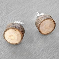 wood slice necklace - Google Search