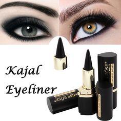 Free Shipping Makeup Waterproof Black Eyeliner Gel Professional Natural MISS ROSE Make Up Eyes Tattoo Eyeliner Stickers