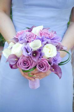 Lavender #wedding #bouquet by @Nancy Liu Chin. Tu Photography