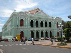 Santa Ana Theatre in El Salvador...Teatro de Santa Ana, El Salvador