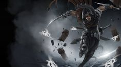 Talon League of Legends Champion Art Blade Sword High Resolution 4096x2560