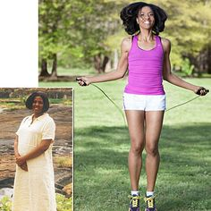The key to Tamyala Ezell's 105-pound weight loss: imagining how she'd look slim.