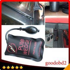 Professional PDR KLOM Pump Wedge Airbag Locksmith Tools Auto Air Wedge Lock Pick Open Car Door Lock Small Black Size 19*12 CM