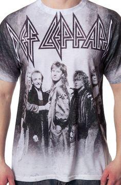 Def Leppard Sublimation Shirt