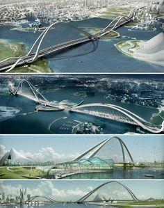 Dubai Arch Bridge
