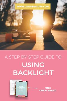 Photography Tip | Lighting Tutorial | How to Use Back Light | Back Lit Images
