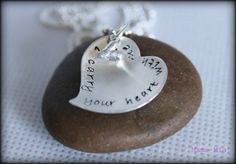 I just won this from @StlStanding_Mag & Mama Mia Custom Hand Stamped Jewelry!