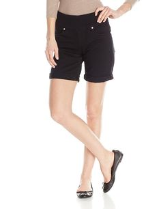 Jag Jeans Women's Jordan Pull On Twill Short ** Hurry! Check out this great product : Fashion