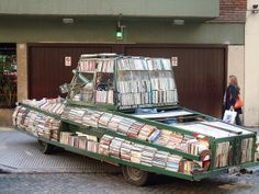 One way to make sure you're never short of a book...