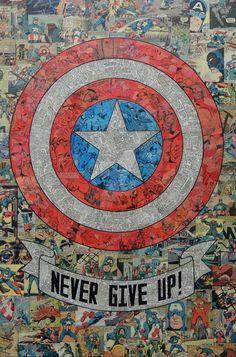 Cap Round Shield by MikeAlcantara