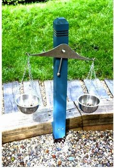 Outdoor balance scale | Backyards