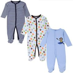 >> Click to Buy << 3 Pieces/pack Brand Baby Romper 100% Cotton Infant Body Short Sleeve Clothing Similar Jumpsuit Printed Baby Boy Girl #Affiliate