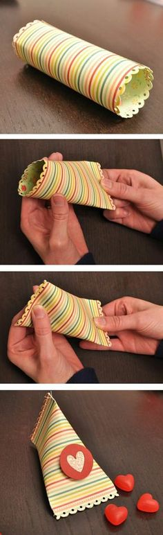 comment faire vous memes un pliage papier cadeau original