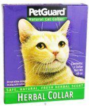 Pet Guard Natural Herbal Cat Collar - 0.46 Oz, 2 Pack